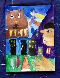 "Autobiographical Portraits w/respect to Chagall's ""I and The Village"""