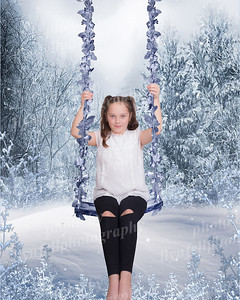 Lexi On Winter Swing 10x8