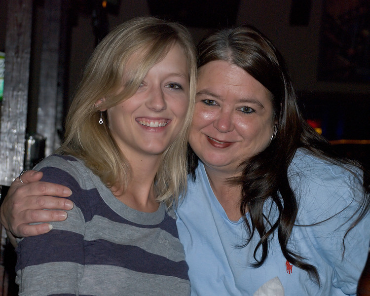 Karen & Laurie watching The Bendz - @ Shuckers - Sept 9, 2011 - #43
