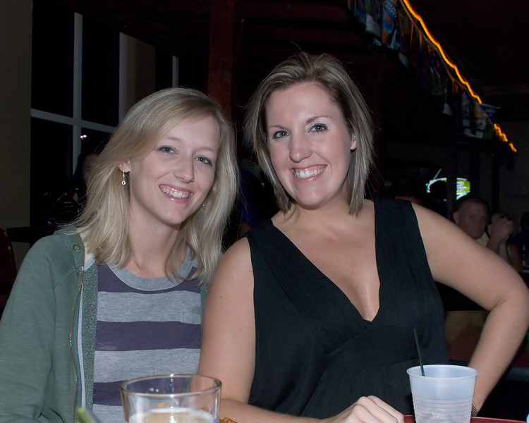 Karen & Leslie watching The Bendz - @ Shuckers - Sept 9, 2011 - #79