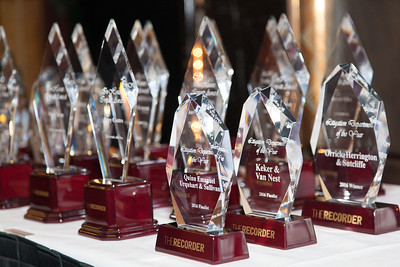 The Recorders 2016 Litigation Departments of the Year and In-House Impact Awards.