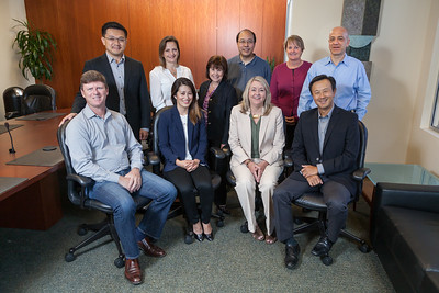 Varian's Product Counseling Group, photographed at Varian in Palo Alto, Oct. 23, 2015