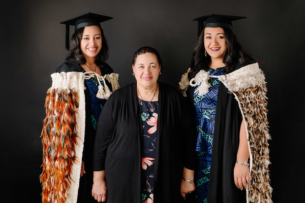 Therese and Emily's graduation photos