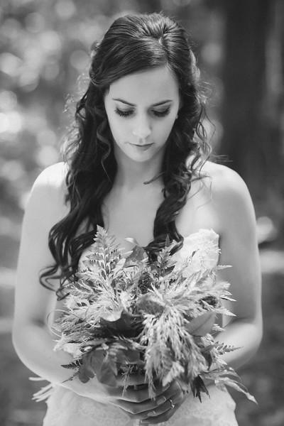 Native Flower Wedding Bouquet