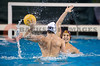 06 December 2008: Navy Midshipmen left-hander Kevin Bell (9) takes a shot during the USC Trojans 14-9 win over the Midshipmen in the NCAA men's water polo championship semi-final game at the Avery Aquatic Center in Stanford, CA.