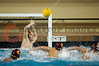 06 December 2008: USC Trojans goalkeeper Benjamin Weil (1A) blocks a shot during the Trojans 14-9 win over the Navy Midshipmen in the NCAA men's water polo championship semi-final game at the Avery Aquatic Center in Stanford, CA.
