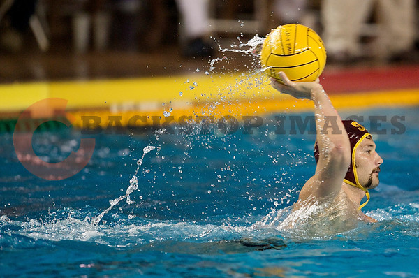 06 December 2008: USC Trojans driver Matt Sagehorn (6) during the Trojans 14-9 win over the Navy Midshipmen in the NCAA men's water polo championship semi-final game at the Avery Aquatic Center in Stanford, CA.