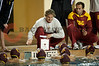 06 December 2008: USC Trojans head coach Jovan Vavic during the Trojans 14-9 win over the Navy Midshipmen in the NCAA men's water polo championship semi-final game at the Avery Aquatic Center in Stanford, CA.