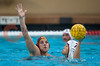 07 December 2008: USC Trojans two-meter J.W. Krumpholz (3) defends Stanford Cardinal utility Janson Wigo (7) during the Trojans's 7-5 win over the Cardinal in the NCAA men's water polo championship final game at the Avery Aquatic Center in Stanford, CA.