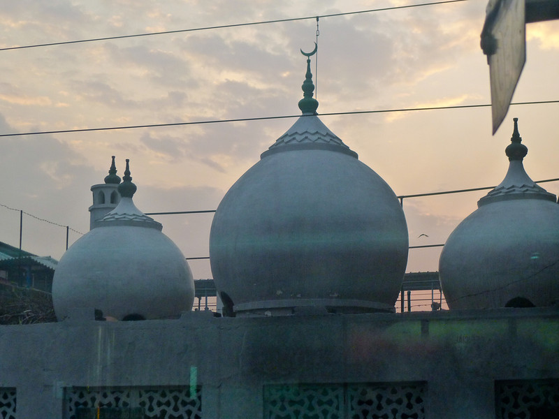 Early Morning Minarets @ Train Station