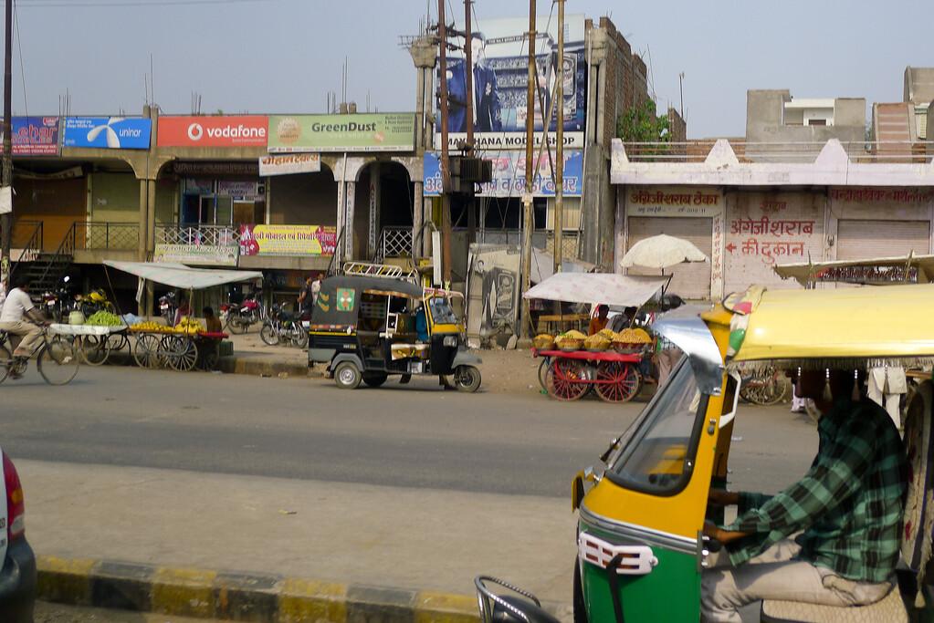Small roadside market