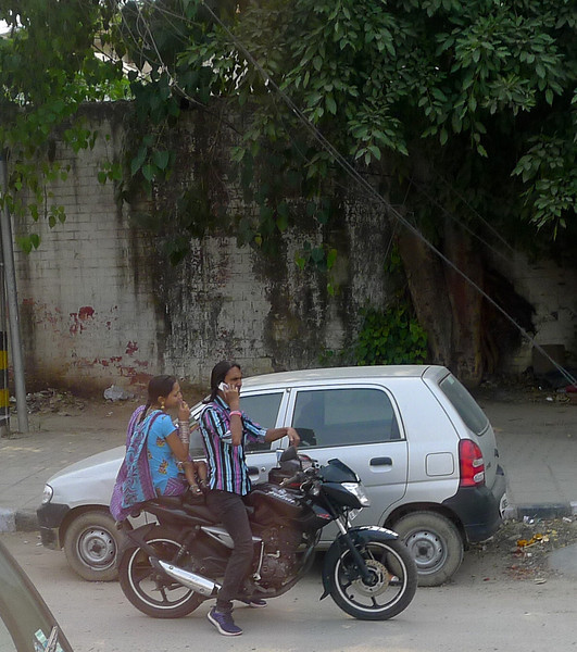 Not hands free--driver and rider