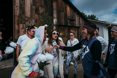 Greengate Ranch and Vineyard hosts The Wedding Games to raise money for the Special Olympics in San Luis Obispo, CA on Sunday, February 17, 2019 .