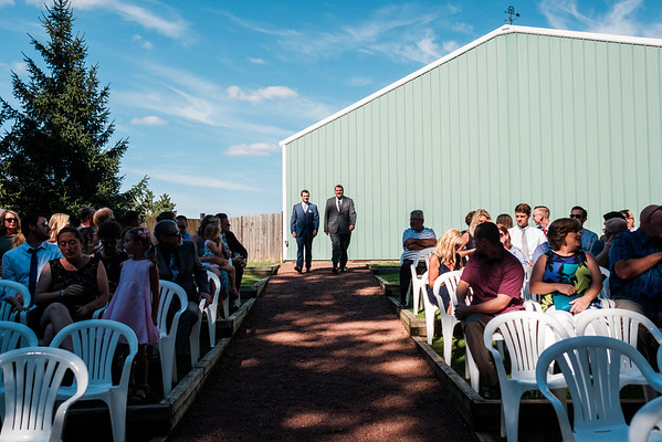 Williams Tree Farm Wedding Ceremony