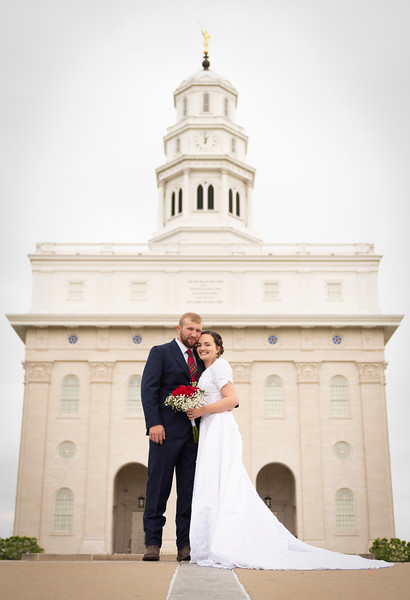 Jacob and Ellie Nauvoo Temple