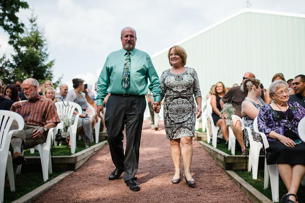 Ceremony at Williams Tree Farm