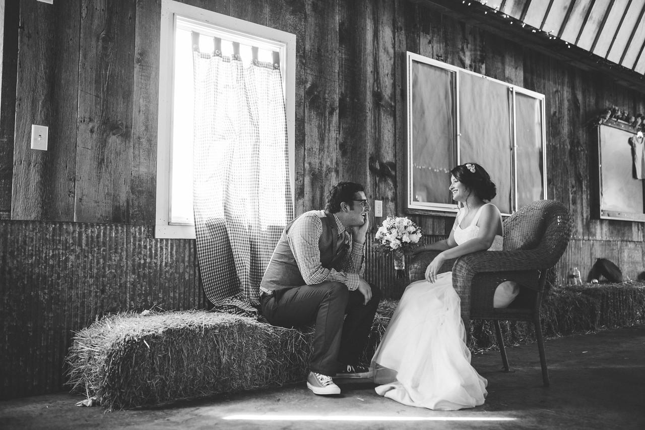 Pre-Ceremony Bride and Groom