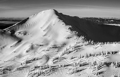 Snowghost and vast peaks in the Swan Mtns and Jewel Basin