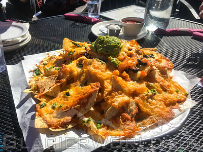 Nachos at Hellroaring Saloon at Whitefish Mountain Resort.