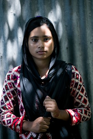 02- Jesmin Akther (18) RJ and Volunteer Radio Chilmari 99.20 fm Chilmari, Kurigram.