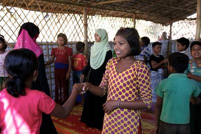 0070-0071 Sabiha at TLC. bangladesh, children, dhaka, documentary photographer men, photographer, rohingya, school, sujanmap, UNICEF, women, www.sujanmap.com