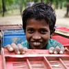 0538-0545<br /> <br /> Enayet Ullah, an 8-year-old Rohingya refugee, makes money carrying empty crates for vegetables sold at Leda makeshift camp in Teknaf, Cox's Bazar, Bangladesh. <br /> <br /> Date:-31-12-2017<br /> <br /> Photo: UNICEF / b.a.sujaN / Map