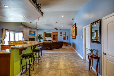Kitchen and Great Room/Family Room