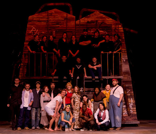 Godspell Cast and Crew