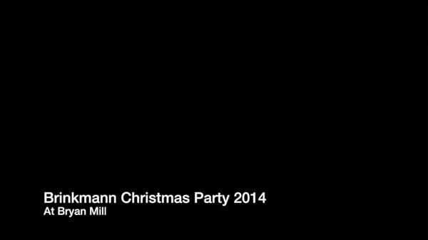 Brinkmann Christmas Party 2014