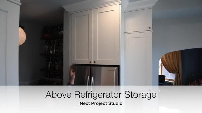 Next Project Studio - Above Refrigerator Storage