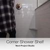 Next Project Studio - Custom Corner Shelf