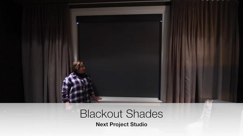 Next Project Studio - Blackout Shades