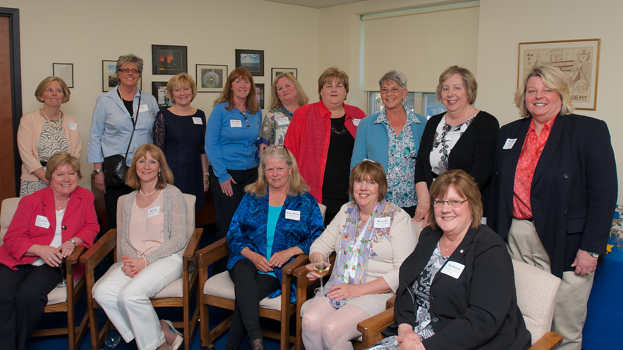 Hingham, MA - Members of the Class of 1973. Photo by Ryan Hutton