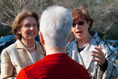Hingham, MA - Kathleen Torsney Young, left, Mary-Ellen Hyland Batchelor, center and Susan Brennan. Class of 1963. Photo by Ryan Hutton