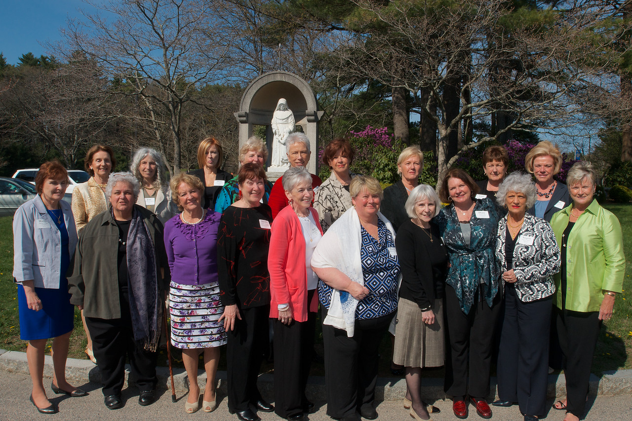 Hingham, MA - The Class of 1963. Photo by Ryan Hutton