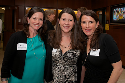 Hingham, MA -  Nora Conway Herrin, left, and Stacey Dwyer Houlihan, right Class of 1993. Photo by Ryan Hutton
