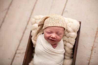 Oliver's Newborn Photos-6