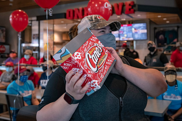 Raising Cane's - New Resturant Opening in Houston TX
