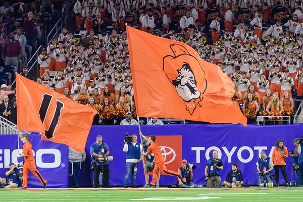 2019 Texas Bowl: Texas A&M-Aggies vs Oklahoma State-Cowboys