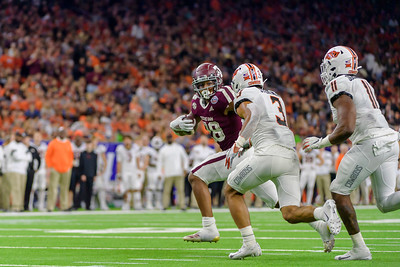 2019 Texas Bowl: Texas A&M-Aggies vs Oklahoma State-Cowboys