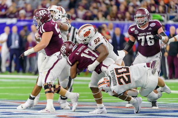 NCAA Texas Bowl: Texas A&M-Aggies vs Oklahoma State-Cowboys