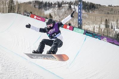 Burton US·Open Snowboarding Championships   Halfpipe Semi-Finals