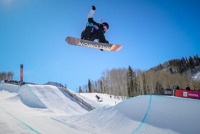 Burton US·Open Snowboarding Championships   Halfpipe Finals