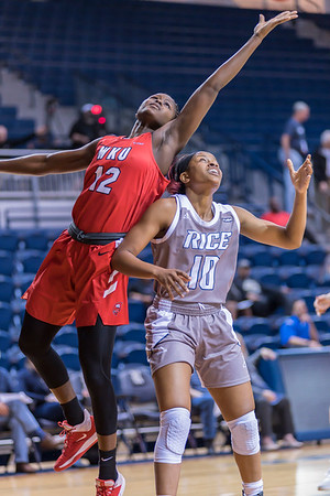 Rice Owls v Western Kentucky Lady Toppers