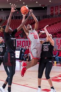 NCAA WBB | Houston Cougars v Temple Owls
