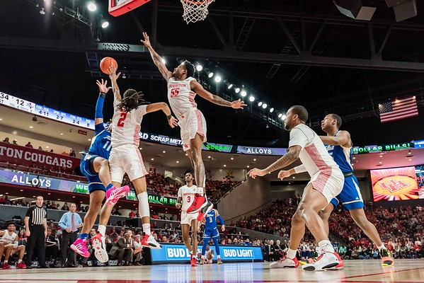 NCAA MBB | Houston Cougars v Tulsa Golden Hurricanes