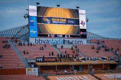 MLS - MINNESOTA UNITED FC @ HOUSTON DYNAMO
