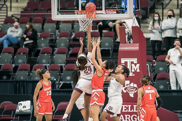 NCAA Women's Basketball   Texas A&M v Sam Houston State Bearkats