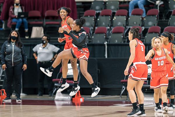 NCAA Women's Basketball | Texas A&M v Sam Houston State Bearkats