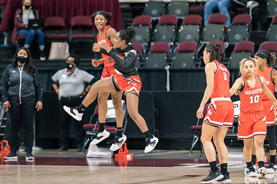 NCAA Women's Basketball | Texas A&M v Sam Houston State Bearkats
